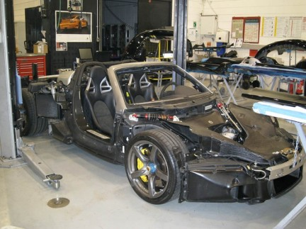 Naked Carrera GT pictures - Teamspeed.com