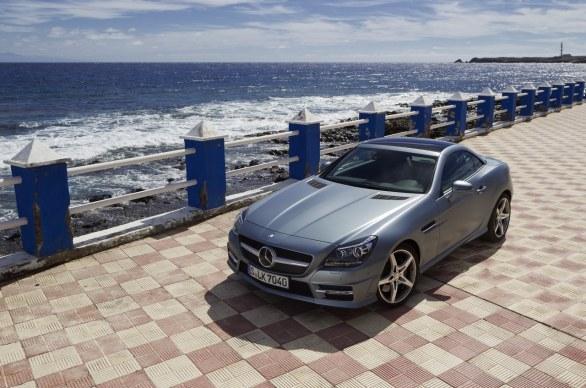 Mercedes SLC: foto spia della nuova SLK - Autoblog
