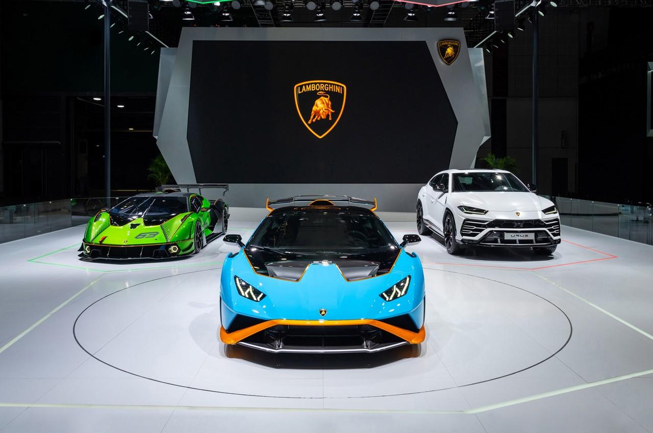 Lamborghini al Salone di Shanghai 2021 - Autoblog