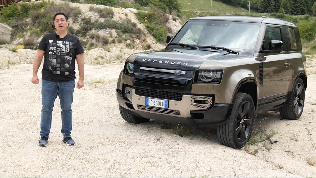 Land Rover Defender 90 P400 MHEV: prova su strada e in off-road - Autoblog