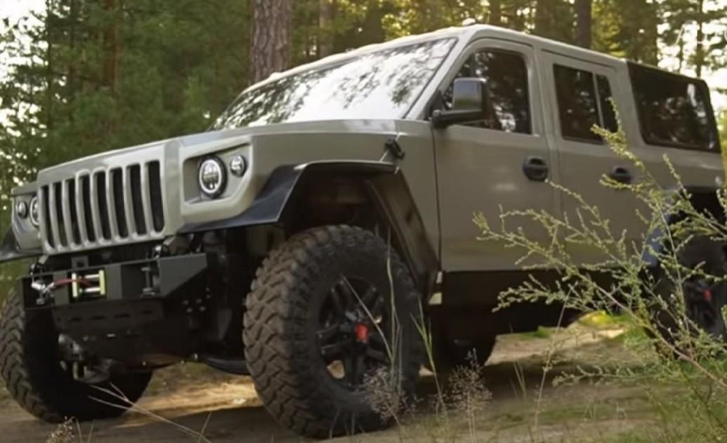 Strela: ecco l'Hummer russo - Autoblog